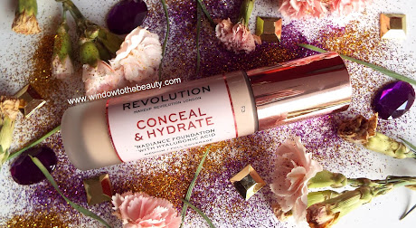 new Revolution Conceal & Hydrate Foundation