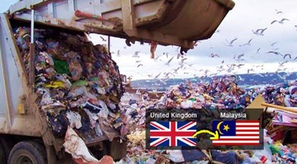 Bagaimana 88,000 Tan Sampah United Kingdom Boleh Ada Di Malaysia?