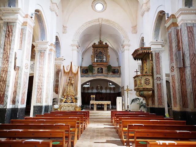 Interno Chiesa Matrice di Ginosa