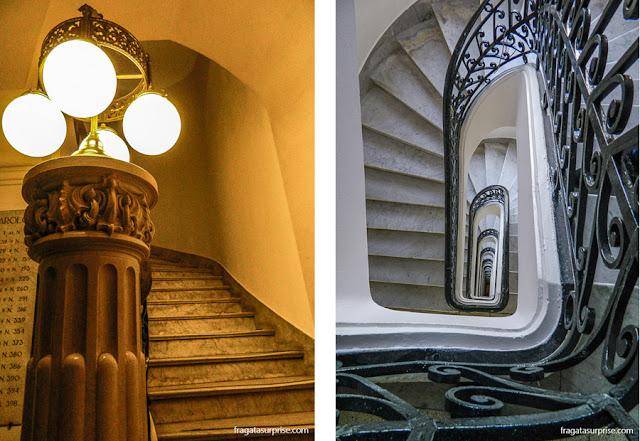 Escadaria do Palácio Barolo, Buenos Aires