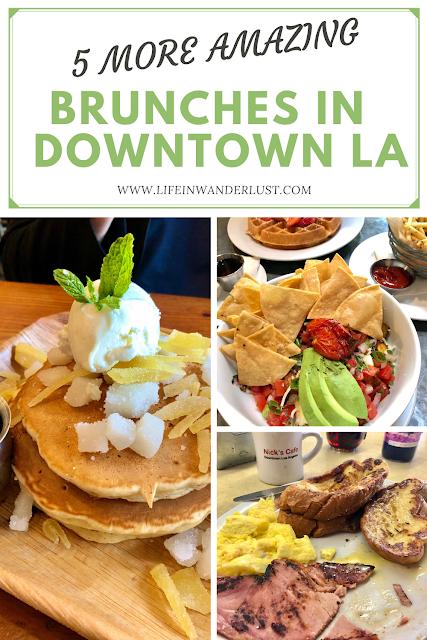 Best brunch in downtown LA