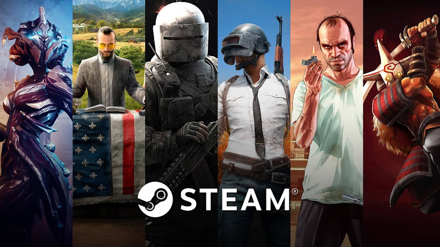 top best selling video games 2018 steam warframe far cry 5 rainbow six siege playerunknown's battlegrounds grand theft auto v dota 2