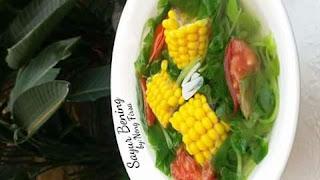 resep sayur bening sederhana