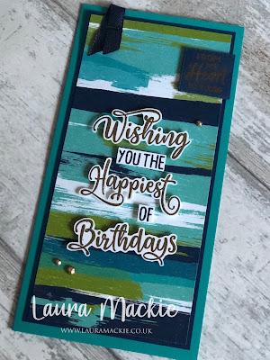 Stampin' Up! Happiest of Birthdays