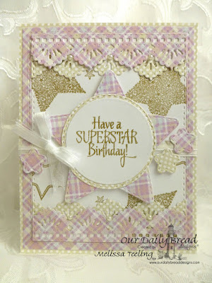 Our Daily Bread Designs Stamp Set: Superstar, Our Daily Bread Designs Paper Collection: Pastel Paper Pack 2016, Our Daily Bread Designs Custom Dies: Double Stitched Stars, Double Stitched Circles, Beautiful Borders