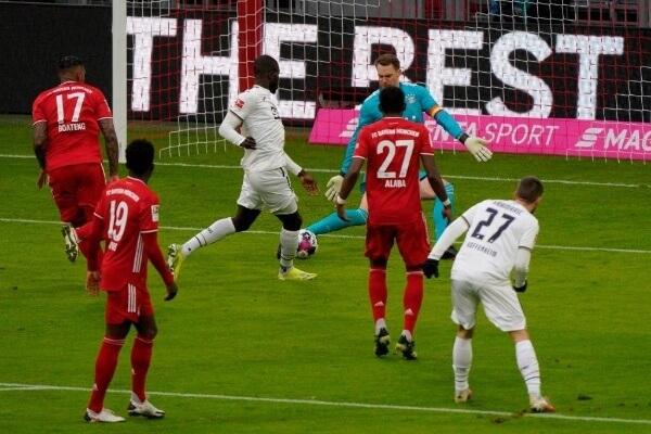ملخص واهداف مباراة بايرن ميونخ وهوفنهايم (4-1) الدوري الالماني
