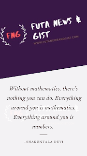 FutaNewsandGist International day of Mathematics
