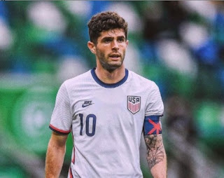 Picture of American Soccer player Christian Pulisic
