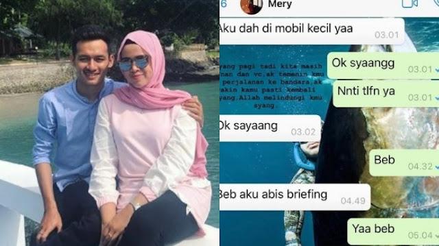 Percakapan Terakhir Pramugari Lion Air JT 610 dengan Pacarnya, 2 Jam Sebelum Hilang Kontak