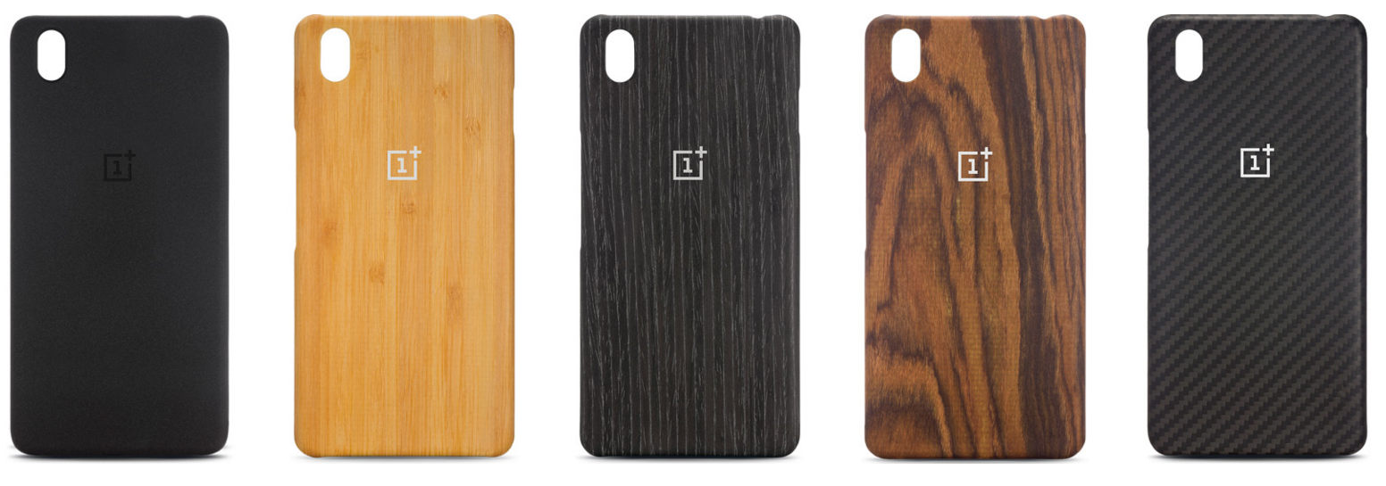 the latest 083b8 69e7e OnePlus X Sandstone, Rosewood, Black Apricot, Bamboo, Karbon and ...