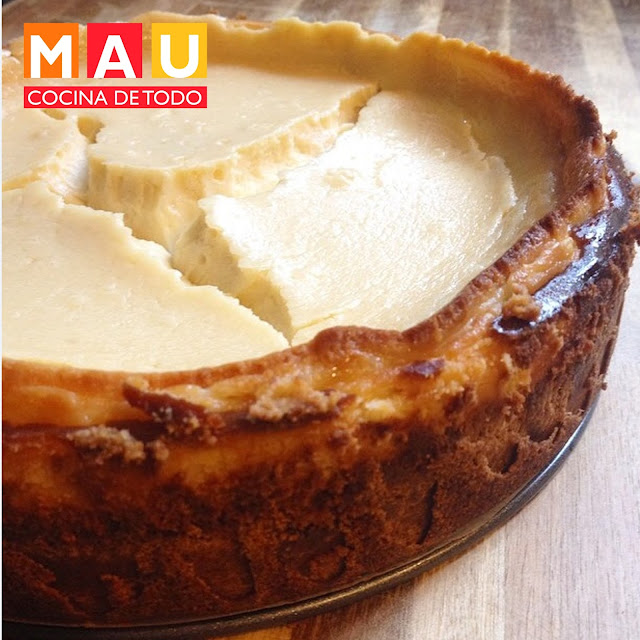 cheesecake receta pay de queso pie estilo nueva york new facil