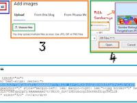 Cara Mudah Membuat dan Mendapatkan HTML Gambar dengan Mudah Menggunakan Posting di Blog
