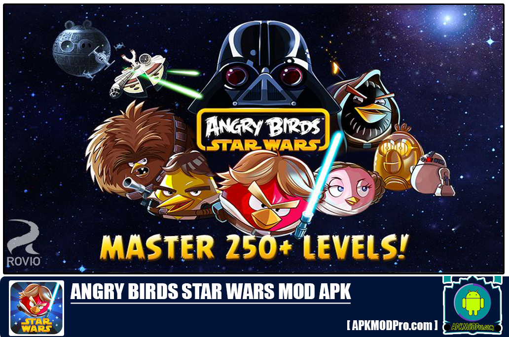Download Angry Birds Star Wars Mod Apk (Unlimited Money & Boosters)