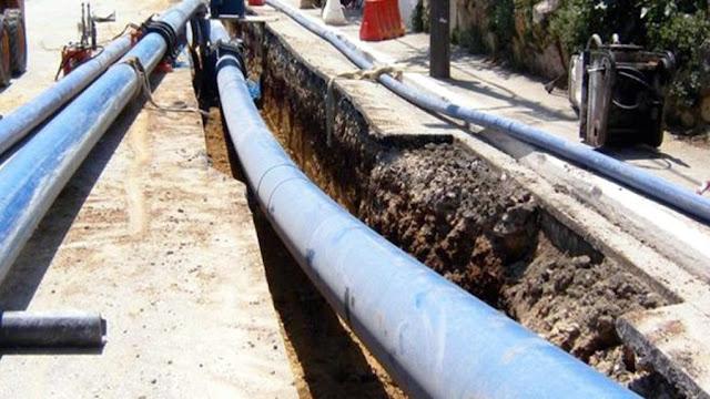 Προκήρυξη διαγωνισμού για την κατασκευή του έργου της Υδροδότησης Κουτσοποδίου