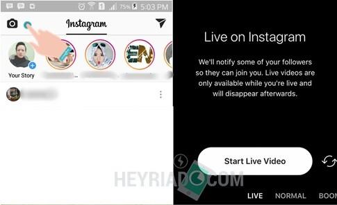 Cara Menggunakan Instagram Live di Android
