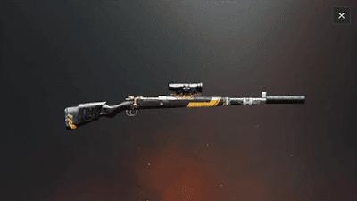 kar 98k sniper terbaik di game pubg mobile