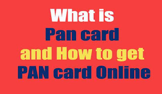 What is Pan card and How to get PAN card