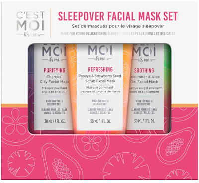 This week I'm obsessed with... C'est Moi Sleepover Facial Mask Set!