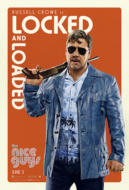 The Nice Guys Russell Crowe Locked Poster