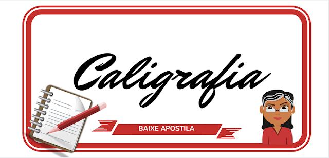 BAIXE - Atividades de Caligrafia