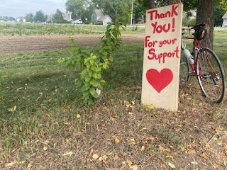 Ollin Farms Thank You Sign