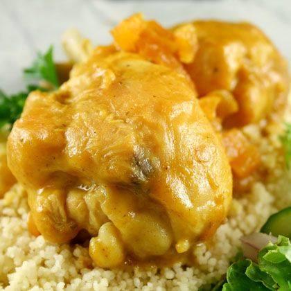 Saucy Apricot-Glazed Chicken Recipe