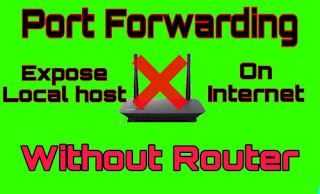 Free Port Forwarding without Router Kali Linux