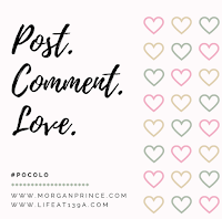 Post, Comment, Love linky button