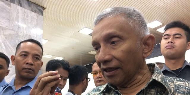 Amien Rais Datang Ke Kantor DPR Temui Fadli Zon Hanya Untuk Bahas Kemungkinan Lawan Berat Jokowi Adalah Prabowo