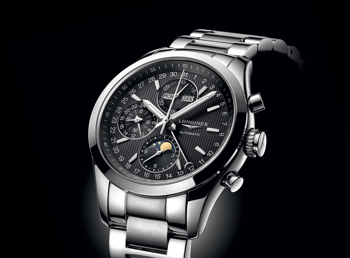 Longines Conquest Classic Moonphase Chronograph Time