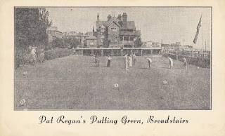 Pat Regan's Putting Green in Broadstairs - postcard. Undated