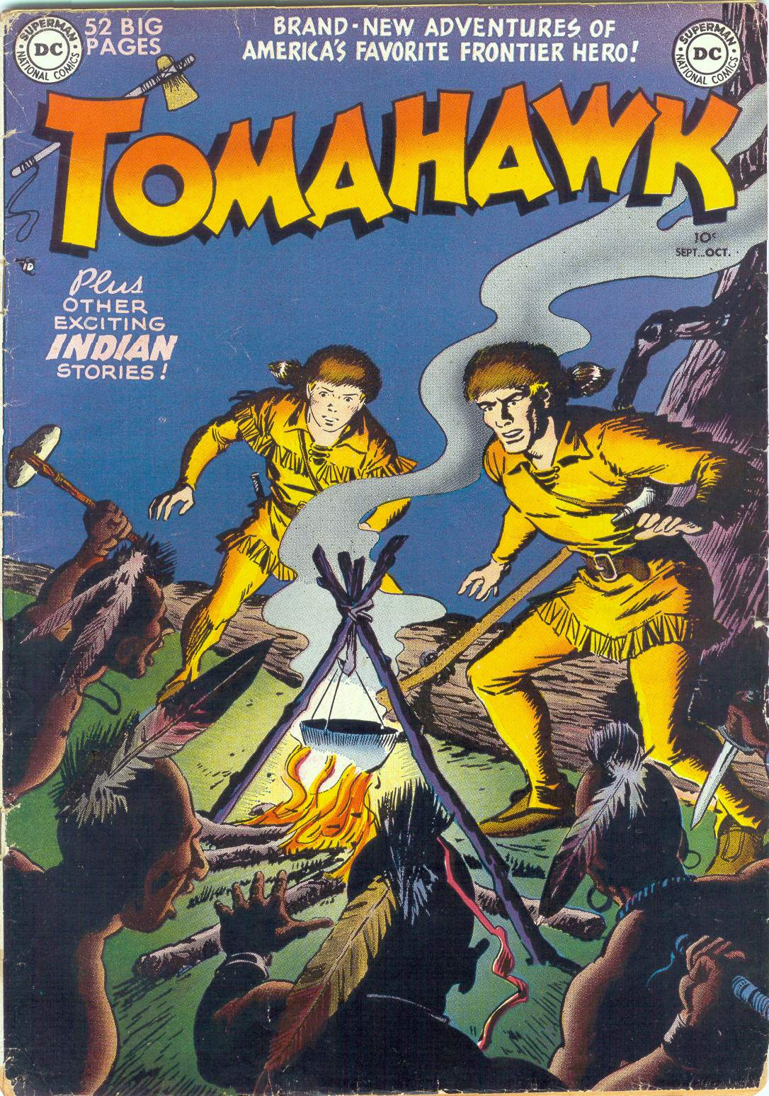 Tomahawk (#001 – #140) 1950 – 1972, DC, Complete Series