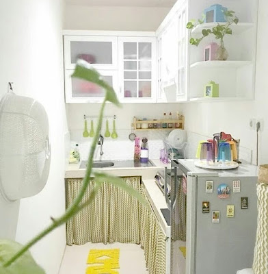 Contoh gambar dapur sangat sederhana