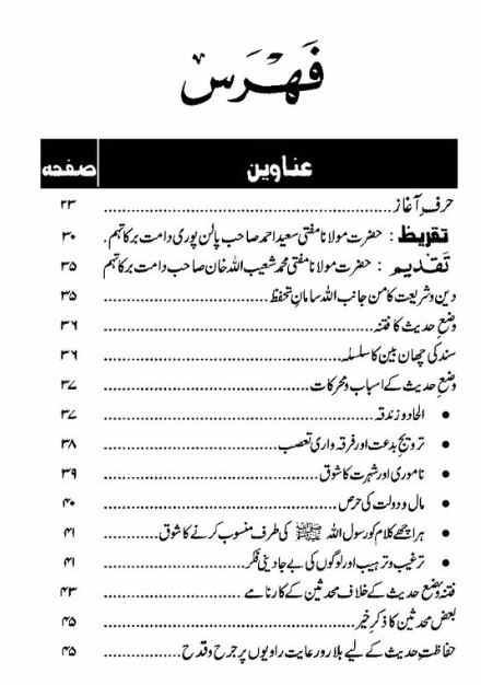 Hadith urdu
