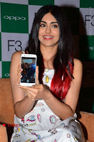 Bollywood Actress Adah Sharma Pos in White Printed Short Dress at OPPO F3 Plus Selfie Expert Mobile Launch .COM 0055.jpg