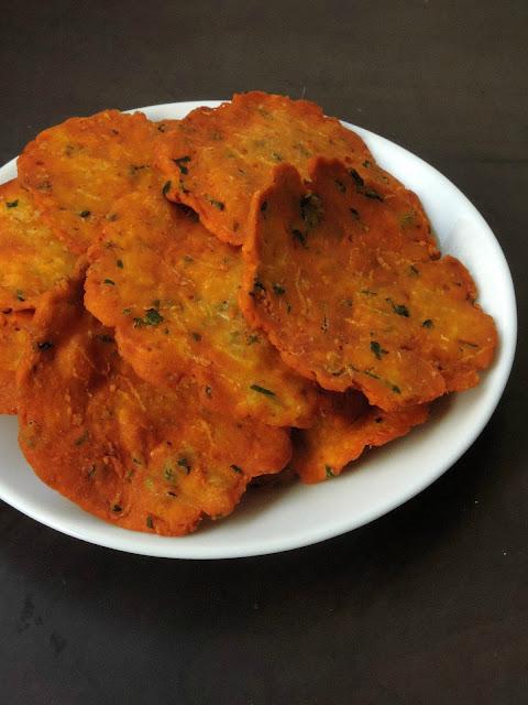 Maharashtrian Kakdi Vada, Cucumber vade