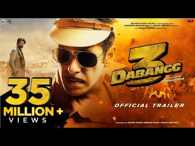 Watch Download free HD Movie Trailer Dabangg 3 in Hindi