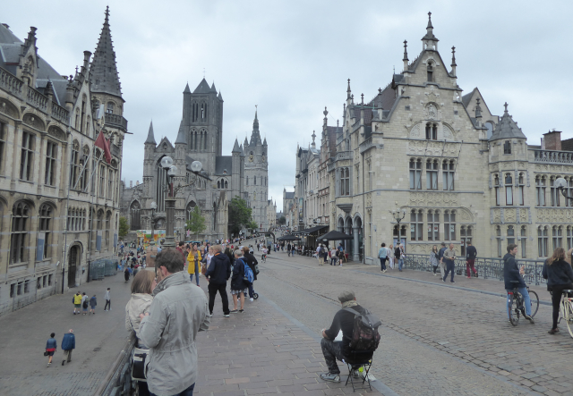Vista general de Gent