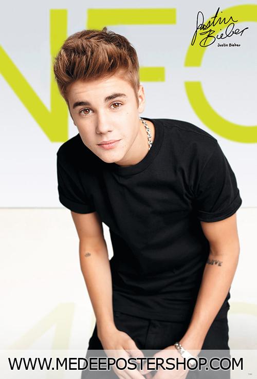 Justin Bieber Poster Addidas NEO Brand Ambrassdor 2015