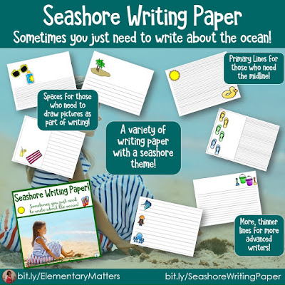 https://www.teacherspayteachers.com/Product/Seashore-Writing-Paper-4549340?utm_source=blog%20post%20sick%20of%20winter&utm_campaign=seashore%20writing%20paper%20