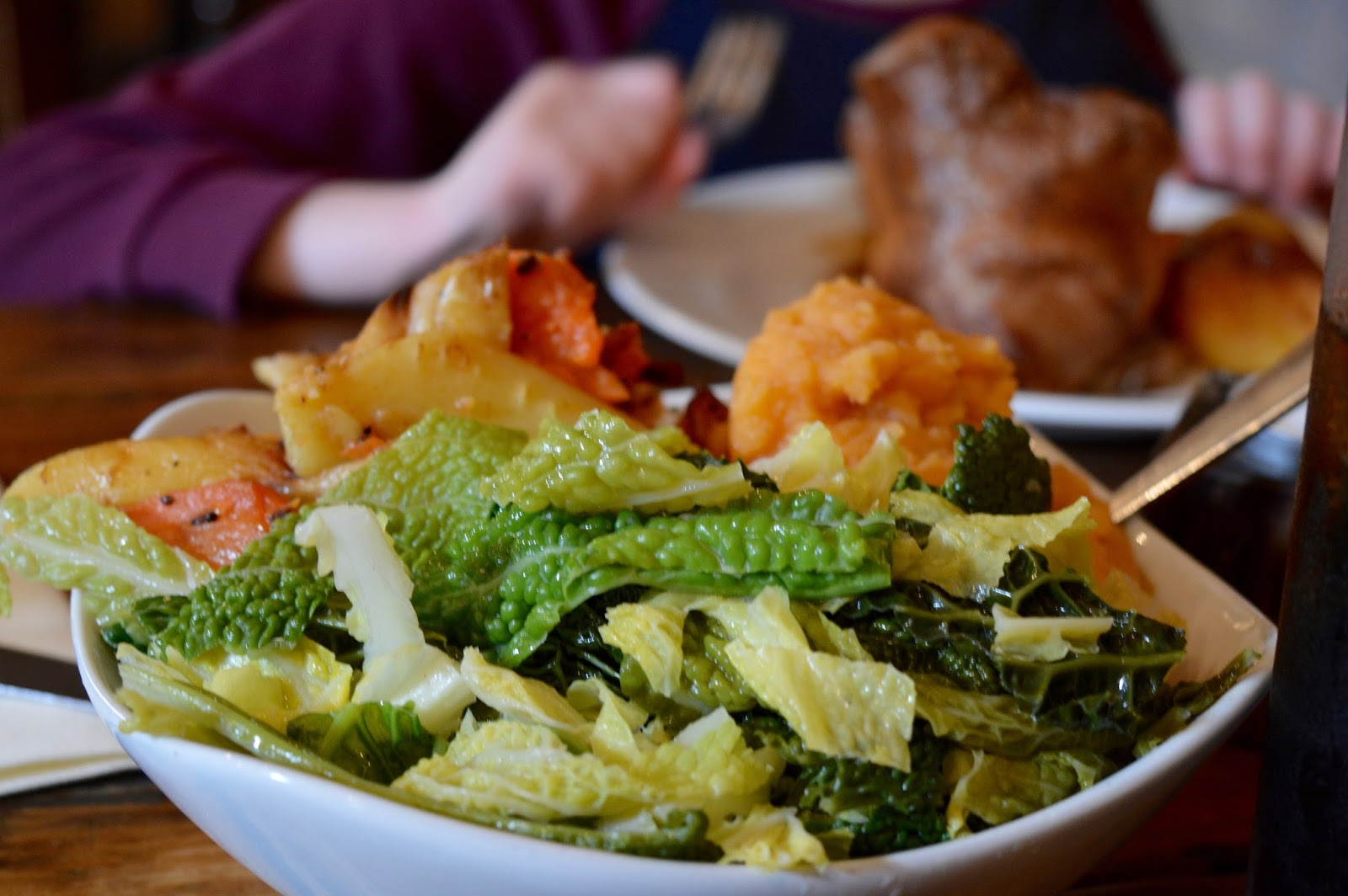 The Stables Beamish Hall | Sunday Lunch Review | Vegetables