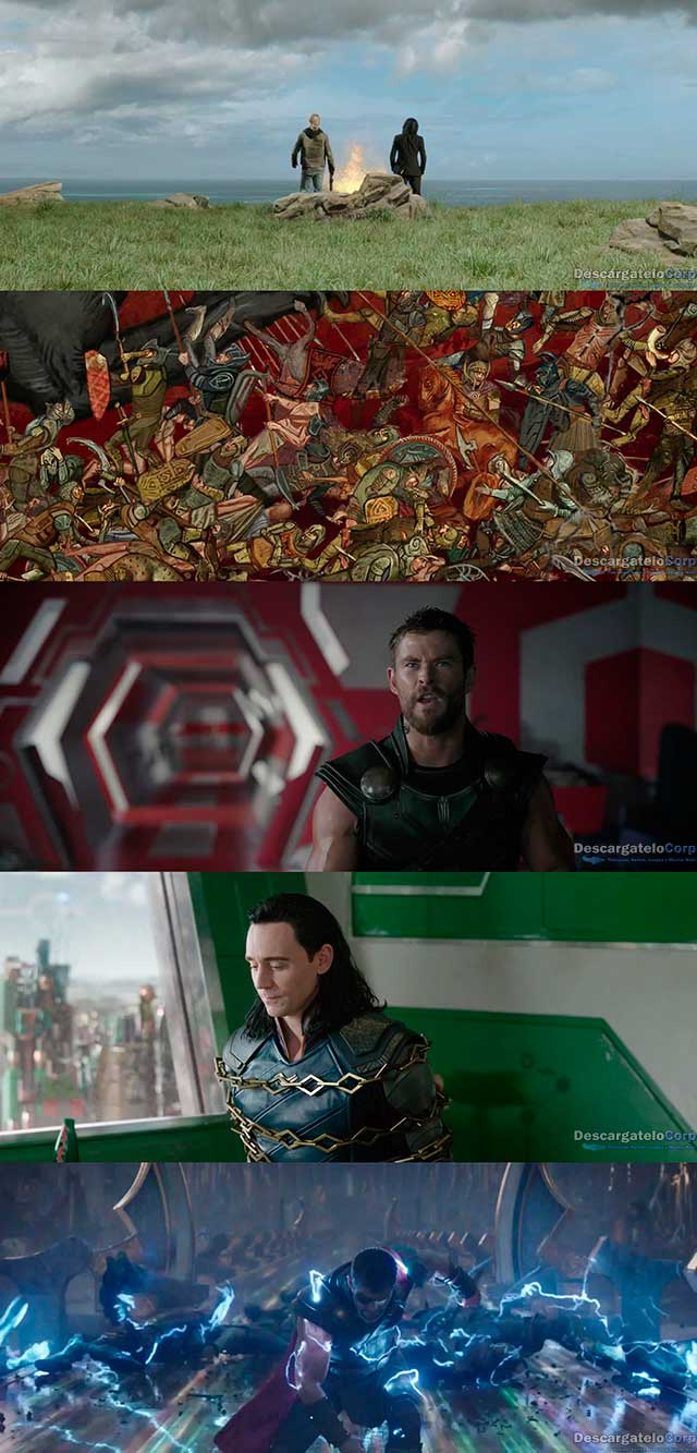 Thor Ragnarok (2017) DVDRip Latino