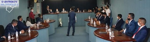 Senador Canedo: Câmara realizou mais uma sessão nesta terça-feira