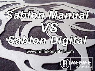 perbedaan sablon manual dengan sablon dtg