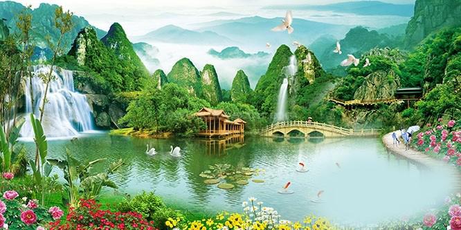 Tranh Phong thủy free
