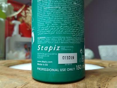Stapiz Botanic Harmony pH 3,5 mlieko na vlasy zloženie