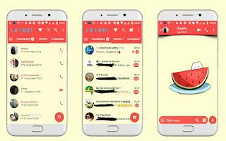 Watermelon Theme For YOWhatsApp & Fouad WhatsApp By Leidiane