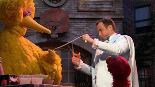 Big Bird, Max the Magician, Will Arnett, Elmo, Sesame Street Episode 4323 Max the Magician season 43
