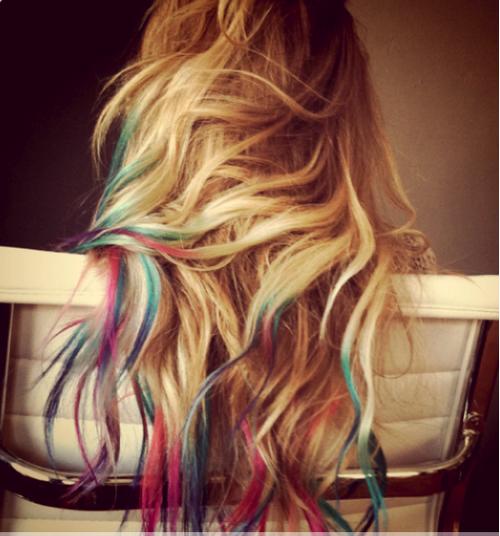 Resultado de imagem para cabelos pintados