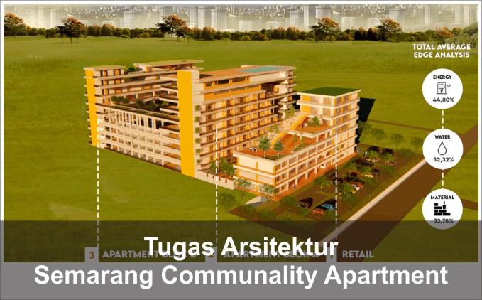 Desain Semarang Communality Apartment